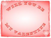 Valentines Day Love Note poster