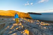 Постер, плакат: Adventures On Island Of The Sun Titicaca Lake Bolivia