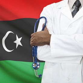 picture of libya  - Concept of national healthcare system series  - JPG