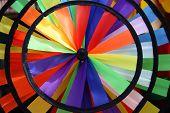 Rainbow Toy Windmill (Detail) poster