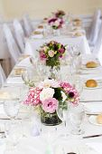 pic of flower arrangement  - wedding tables - JPG