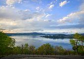 Lake Towada At Sunset In Aomori, Japan poster