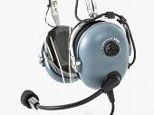 Pilot Headphones. Headphones For Pilots. Aviation Headphones For Pilots. poster