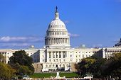 stock photo of lobbyist  - Us Capitol building the place where congress meets - JPG