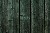 Texture Of Dark Shabby Gray Green Wood. Wood Plank Grey Texture Background. Background Of Shabby Dar poster