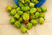 Fresh Bell Pepper, Freshly Picked From The Market, poster