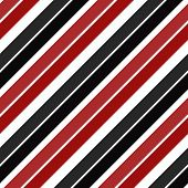 Retro Stripe Pattern With Navy Red And Black Parallel Stripe. Vector Pattern Stripe Abstract Backgro poster
