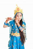 picture of radha  - Girl Krishna  - JPG