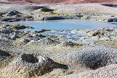 foto of eduardo avaroa  - Geyser Sol de Manana - JPG