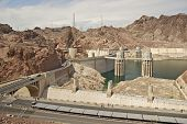 picture of dam  - Hoover Dam  - JPG