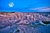 pic of pinky  - Badlands Dusk  - JPG