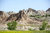 picture of rich soil  - Badlands Landscape - JPG