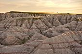 pic of trailer park  - Scenery of South Dakotas Badlands National Park - JPG