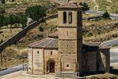 Church Located In The City Of Segovia, Castile And Leon (spain)