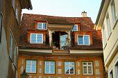 Cozy Balcony In Stuttgart-esslingen Old Town poster