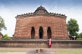foto of radha  - Madanmohan Temple Bishnupur India  - JPG