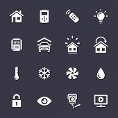 pic of humidity  - Smart Home and Smart House Icons - JPG