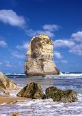 foto of 12 apostles  - beautiful twelve apostles at ocean in Australia - JPG