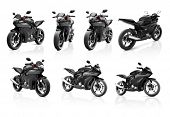 picture of motorcycle  - Motorcycle Motorbike Bike Riding Rider Contemporary Shiny Concept - JPG