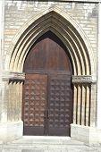 picture of nicholas  - Old door of St - JPG