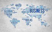 image of enterprise  - Business Global World Plans Organization Enterprise Concept - JPG