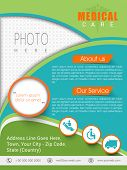 picture of pharmaceutical company  - Colorful health care template - JPG