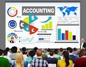 image of revenue  - Accounting Investment Expenditures Revenue Data Report Concept - JPG