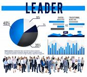 pic of role model  - Leader Leadership Coach Guide Role Model Concept - JPG