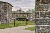 picture of m4  - WWII M4 Sherman Tank at La Citadelle in Quebec City - JPG