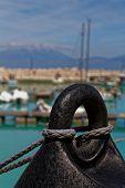 image of marina  - Buoy in front of Ksilokastro Marina - JPG