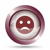 Постер, плакат: Sad Smiley Icon