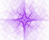 Purple Liturgical Cross