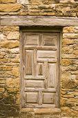 Weathered Wooden Door poster