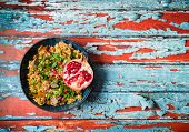 Rice Pilaf With Meat poster