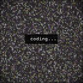 Developer Programming Code.javascript Abstract Computer Script - poster