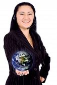 Customer Service Girl - Globe