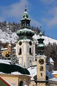 image of banska  - part of the historical mining town of Banska Stiavnica - JPG