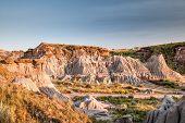 Badlands Of Dinosaur Provincial Park In Alberta, Canada poster