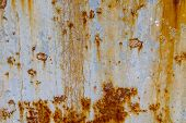 Dark Worn Rusty Metal Texture Background. Rust Texture On Metal Sheet Abstrack Background Concept. O poster