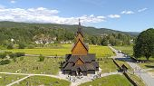 Stave Churches - Norways Contribution To World Architecture poster