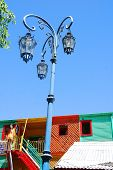 Colorful house of La Boca