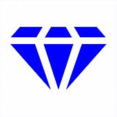Diamond Icon, Diamond Icon Eps10, Diamond Icon Vector, Diamond Icon Vector Illustrations, Diamond Ic poster