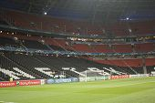 Donbass Arena Stadium An Hour Before The Match