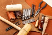 image of leather tool  - Handmade leather craft tool - JPG