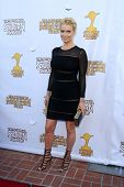 LOS ANGELES - JUN 26:  Laurie Holden arrives at the 39th Annual Saturn Awards at the Castaways on Ju