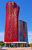 BARCELONA, SPAIN - SEPTEMBER 16: Hotel Porta Fira on September 16, 2013 in Barcelona, Spain. This ho