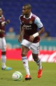BARCELONA - SEPT, 5: Ricardo Vaz Te of West Ham United in action during a friendly match against RCD