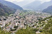 picture of engadine  - City of Chiavenna - JPG