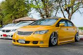 Tuned Car Honda Civic