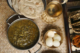 image of phaseolus  - Khalo Dal is very common lentil soup usually eaten with rice - JPG